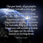 Psalm 47:1, 5-8